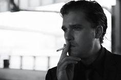 Kit Harington, Daily Photo, Interview, Actors, Crushes, Shit Happens, Black And White, Black N White, Black White