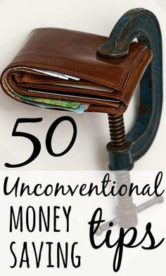 Tight, cheap, frugal or thrifty - whatever you call it, how far would you go to save money? Check out the 50 most unconventional money saving tips - EVER.