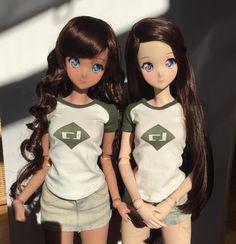 Smart Doll Ebony and Ivory by ericataveras