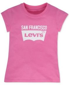 Levi's San Francisco Graphic-Print City T-Shirt, Toddler & Little Girls (2T-6X) - Pink 4