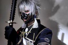 Touken Ranbu Character: Nakigitsune Coplayer: Yui Country: Hong Kong #toukenranbu #toukenranbucosplay #cosplay #nakigitsune #mask #cosplayer #anime #animecosplay #makeup #fight #photo #eyes #hair #like #shadow #nakigitsune #nakigitsunecosplay