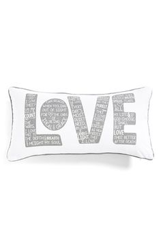 Levtex 'Love' Accent Pillow available at #Nordstrom