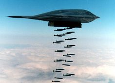 B-2 bomber is one of the stealthiest aircraft in the sky.