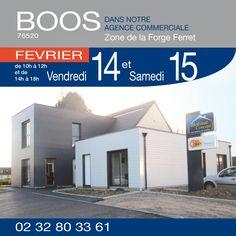 Portes Ouvertes à BOOS (76520) les 14 & 15 Février. Venez découvrir notre nouvelle gamme http://www.habitatconcept-fr.com/evenement-387-portes-ouvertes-boos-76520-14-fevrier-2015 #En2015JeDeviensProprietaire