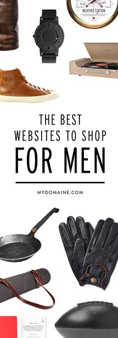 In case you needed gift ideas for the men in your life ( AWESOME list! )