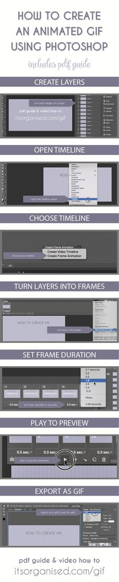 How to Create an Animated GIF with Photoshop