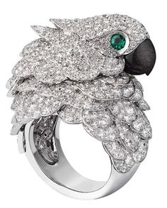 cartier jewels | Cartier Fabuleux parrot watch and ring; watch and ... | Jewelry & Bi ...♥♥