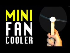Ho to make a Mini Fan Air cooler | Homemade electric fan | DIY Fan