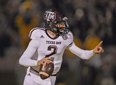"Johnny ""Football"" Manziel - Texas A&M Aggies"