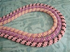 Free Beaded Rope Tutorial featured in Bead-Patterns.com Newsletter!
