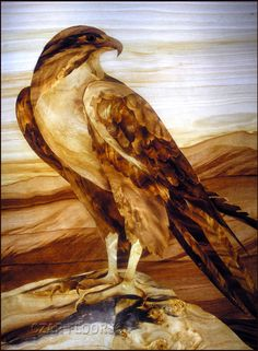 Details, description and price for Eagle in Marquetry