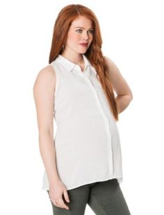 A Pea in the Pod Collection: Splendid Sleeveless A-line Maternity Shirt Splendid. $95.00