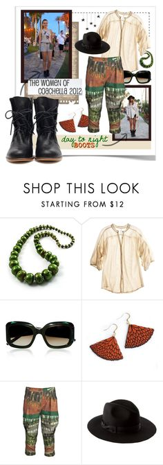 """""""Day to Night Boots   Coachella 2012"""" by shelliquinn ❤ liked on Polyvore featuring Avalaya, The Podolls, Marni, MANOLO, Donna Karan, ASOS and White Label"""