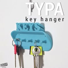 Something we liked from Instagram! The TYPA collection - groovy lettered organizers for your convenience.Ideally place near entrance of your home. Check us out at www.3dshook.com #3dprint #3dmodels #3dprinted #3dprinter #3dprinters #3dprinting #makers #makersgonnamake #PrintEverything #tech #technology #design #deco #decor #interiors #homedecor #geometric #keyhanger #keyring #3dshook #typography #keys by 3dshook check us out: http://bit.ly/1KyLetq