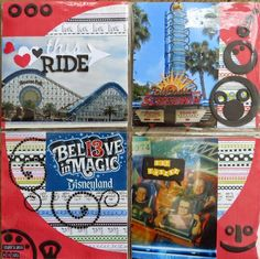 Project Life Disney - California Style - Paradise PIer,