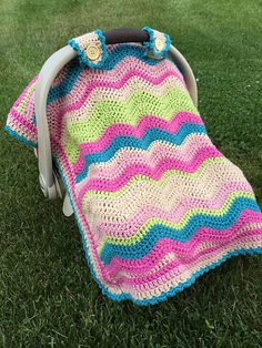 Car Seat Cover pattern by Jessica Dayon