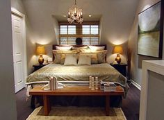 Candice Olson rustic bedroom decoration cozy
