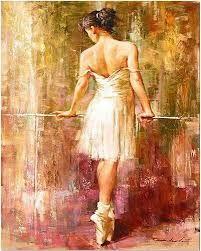 Resultado de imagen para cuadros de bailarinas de ballet