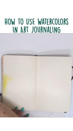 Art Journal Pages, Art Journals, Art Journal Inspiration, Journal Ideas, Art Journal Tutorial, Art Journal Techniques, Watercolor Techniques, Altered Books, Page Design