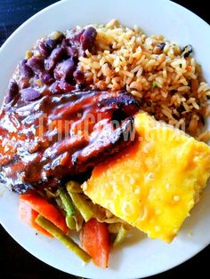 Sunday Lunch Plate Lunch Amp Dinner In Trinidad Amp Tobago Food Trini Food Sunday Recipes