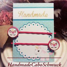 Cabochon Haarspangen Set, pink, rosa, für Mädchen, Einhorn