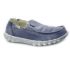 Hey Dude FARTY CHALET Mens Canvas Wide Shoes Blue - http://on-line-kaufen.de/hey-dude/hey-dude-farty-chalet-mens-canvas-wide-shoes-blue
