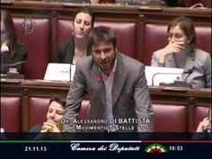 """21/11/2013 M5S Alessandro Di Battista""""Questa europa è contro i cittadini"""""""