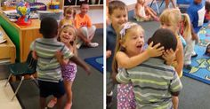 Little Kid Returns To School After Being Sick, His Classmates' Reaction Is Epic…