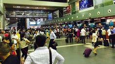 South China Sea: Vietnam airport screens hacked #inewsphoto