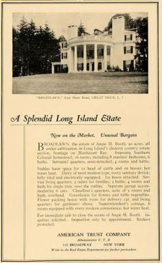 Old Long Island: 'Broadlawns'