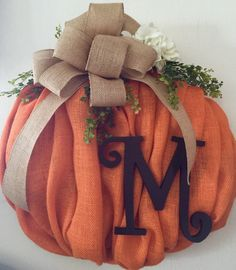 Burlap wreath fall wreath fall decor burlap by KarensCustomWreaths