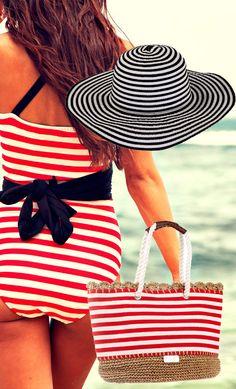 Las rayas estilo navy un clásico que nunca pasa de moda...