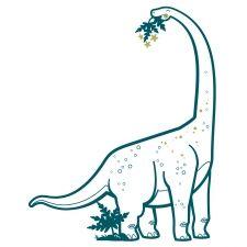 Vinilos Dinosaurio : Triceratops