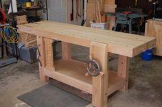 Split-Top Roubo Workbench  - by Richard H @ LumberJocks.com ~ woodworking community