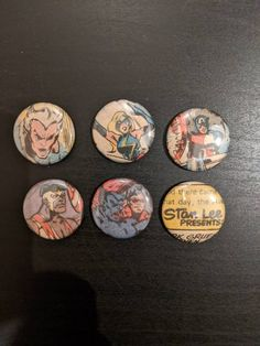 One Of A Kind, Vintage Comic Book Art, Button Set Featuring The Avengers, From 1979 Ms Marvel, Captain Marvel, Marvel Avengers, Marvel Comics, Captain America, Vintage Comic Books, Vintage Comics, Comic Books Art, Book Art