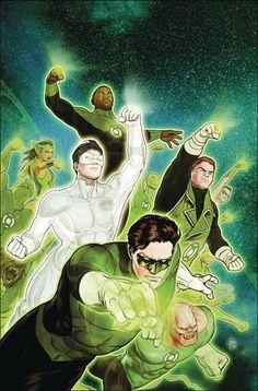 Hal Jordan & the Green Lantern Corps #13 - Mikel Janin