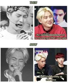 exo memes | Chanyeol's comment, though