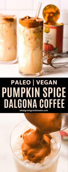 Learn how to put a spiced twist on Dalgona coffee with this pumpkin spice Dalgona coffee! The TikTok coffee recipe gets a Fall treatment, and it takes just 5 minutes to make.