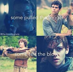 If you are a maze runner fan and you cry easily, don't read this!