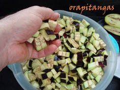 ora, pitangas!!!: caponata de berinjela do nick Food And Drink, Appetizers, Easy Punch Recipes, Veg Recipes, Stuffed Bread, Dessert Food, Preserve, Diets, Foods