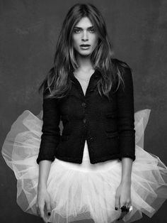 Chanel The Little Black Jacket - Elisa Sednaoui - Tutu.