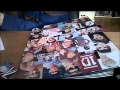 DIY: One Direction binder cover