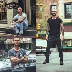God Save the Queen and all: Adam Levine x John John Denim SS16