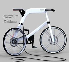Audi Electric Bike | Yanko Design