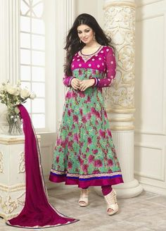 Beautiful and Pretty #Ayesha #Takia Faux #Georgette #Suit.