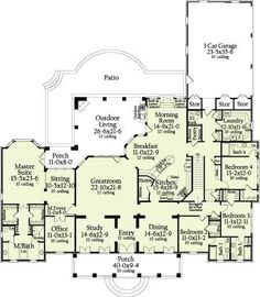 amazing house floor plan