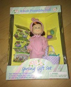 Madeline 8 inch Doll Spring Gift Set 1999 Easter Bunny   eBay