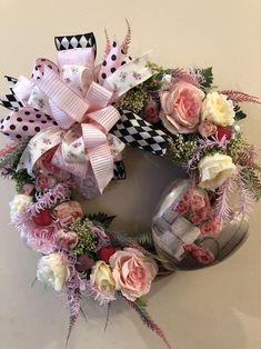Front Porch Decor Front Door Wreaths All Season Wreath Mothers Day Wreath, Valentine Day Wreaths, Valentines Day Decorations, Valentines Diy, Wreaths For Front Door, Door Wreaths, Front Porch, Handmade Ornaments, Handmade Decorations