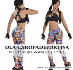 Ola-laRopadeportiva para la mujer moderna y actual. ¡Elige lo mejor en ropa deportiva y disfruta de una buena jornada en el Gimnasio!  http://www.ola-laropadeportiva.com/…/99-pantalon-leggins-ti… Contáctanos por WhatsApp al 318 8278826 Cali, Colombia.  #Mujer #Moderna #Deportiva #GYM #Leggins #Colombia