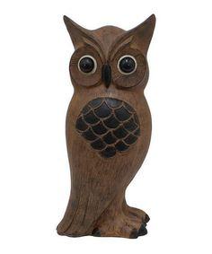Love this Brown Owl Figurine on #zulily! #zulilyfinds